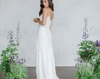 Bridal Skirt, Wedding Skirt, Lace skirt, A-line skirt, Long skirt, Slim skirt, Bridal separates, Wedding Dress, Bias cut skirt, Modern bride