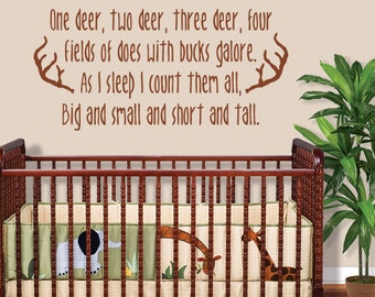Hunting Wall Decal   Boys Room Decor   Deer Wall Decal   Nursery Decals Boy    Part 74