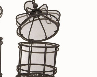 2 6 Inch Small Metal Bird Cages SPECIAL PRICE!