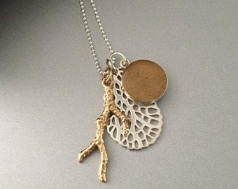 Sterling Silver Seaside Necklace