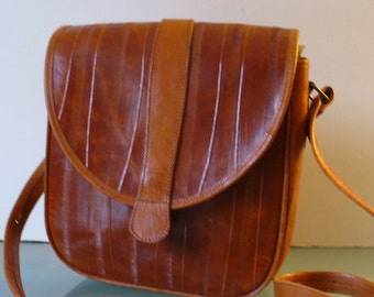 Cognac Made in Mexico Shoulder Bag