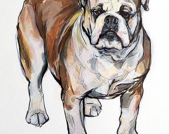 Custom Full Body Pet Portraits