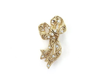 Beautiful Vintage Bow Brooch