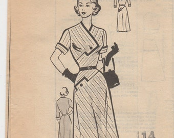 Outstanding Vintage Dress Pattern 4569 Size 14