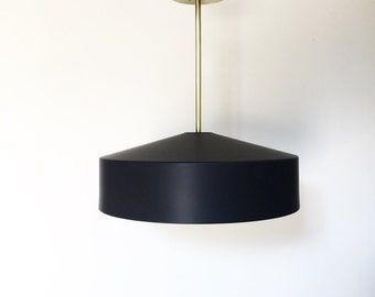 Modern Brass Pendant Light - UL Listed - Slay