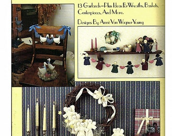 Strings and Things Sewing Craft Pattern Book Leisure Arts 1057