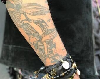 Pirate's Treasure Charm Cuff