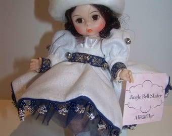 Jingle Bell Skater Madame Alexander 8 in doll