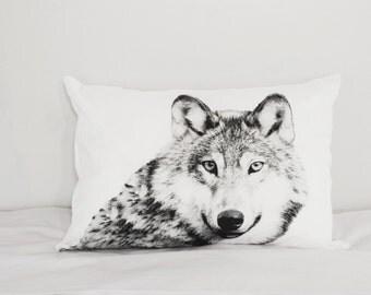 Wolf & Fox ( pillowcase series )