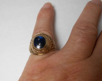 Antique Balfour 10K men School Ring Size 10 1/2