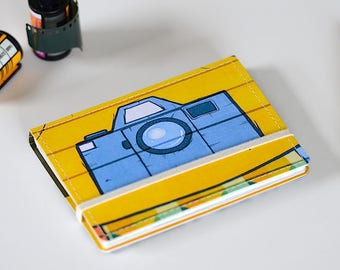 Upcycled Mini Journal- Photo Edition, Ready to Ship!