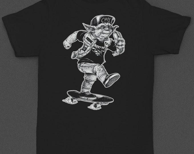 """Yoda """"Yoda Skater"""" Tshirt"""