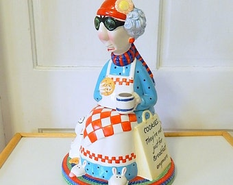 """Cookie Jar Maxine Hallmark  """"Cookies, they are not just for breakfast anymore"""" Floyd the Dog."""