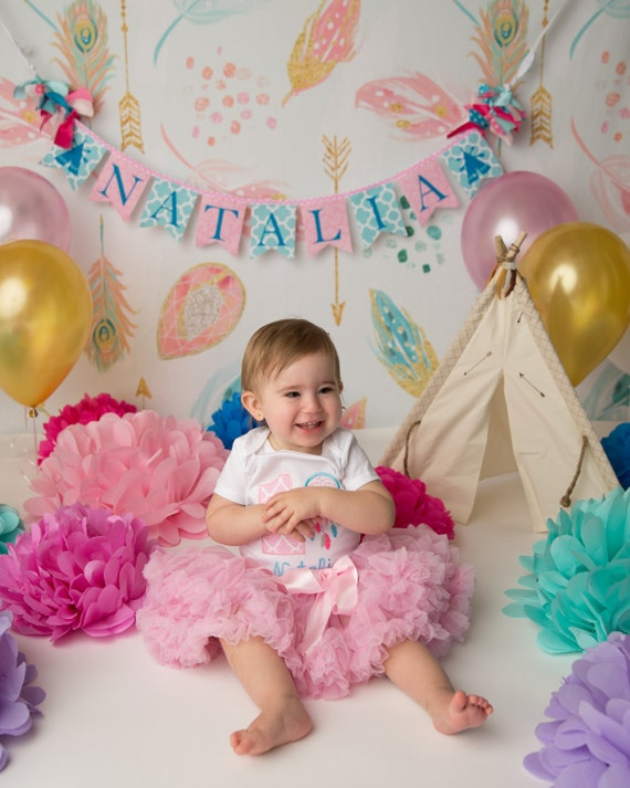 SHE'S a WILD ONE Banner / First Birthday Banner / Cake