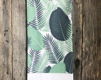 Palm Branch Tea Towel (Design 2)