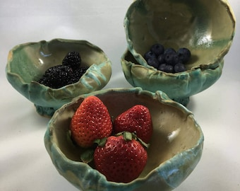 Ceramic Bowls, Pottery Bowls, Snack Bowls, Handmade Bowls, Stoneware Bowls, Serving Bowls, Dip Bowls, Bowl Set