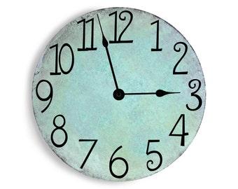 Light Turquoise Clock
