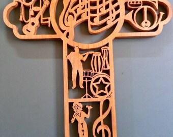 Musician's Cross