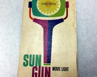 Sylvania Sun Gun Movie light in original box