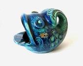German Pottery / Fish ashtray / Design Bodo Mans for Bay Keramik / WGP