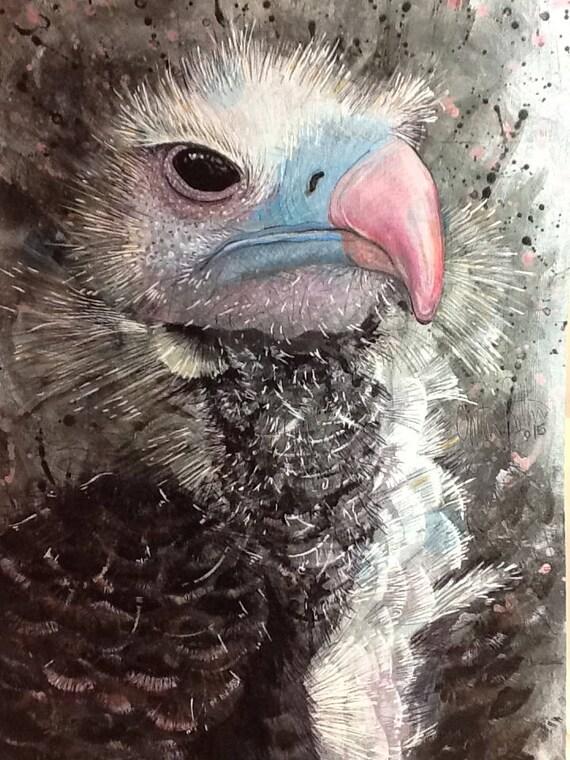 Vulture  - Original Painting