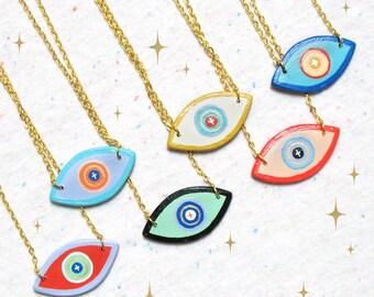 Watchful Eye Talisman Necklace