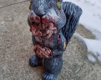 Carrion Merle The Infected Squirrel (Grey)