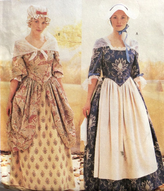 Butterick 3071 Women S Costume Pattern Historical Early