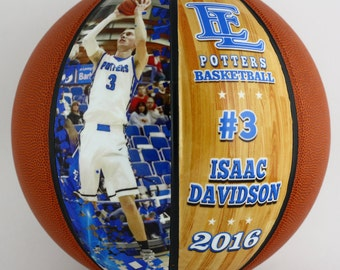 Personalized Basketball-Senior Basketball Gift, Athletic Achievement Awards, Coaches Gifts, Senior Night, High School Senior Basketball Gift