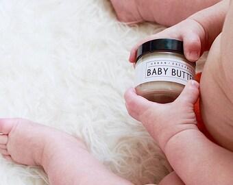 BABY BUTTER // Calendula Diaper Rash Cream [Multi-Purpose for Mama Nipples/Belly] - - - Vegan ∙ Organic ∙ 100% Natural