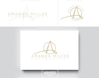 Thin signature letters artistic branding luxury businesscards simple modern gender neutral logo Identity artist makeup wedding photographer