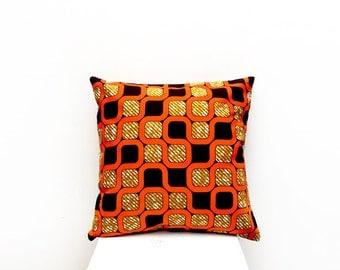 Retro Pillow Cover, African Home Decor, Retro Home Decor, African Pillow  Cover,