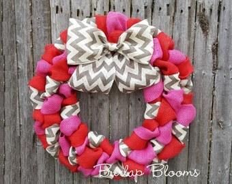 Valentine Wreath | Etsy
