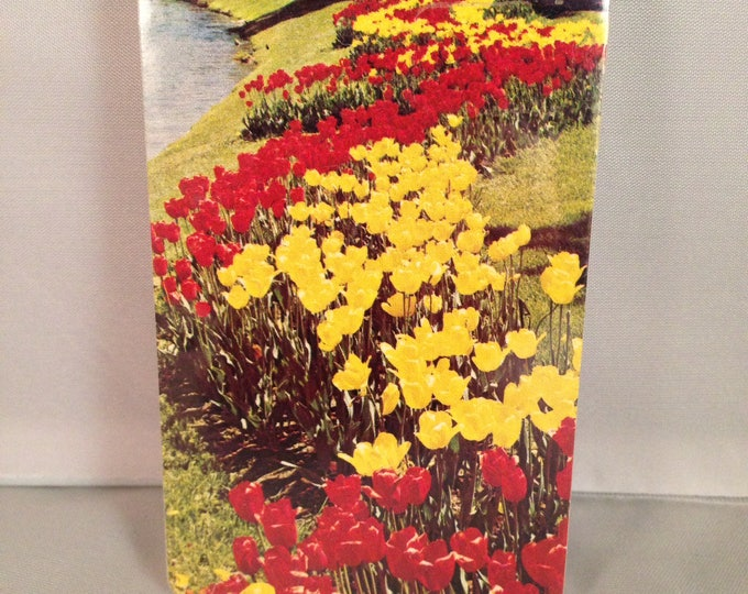 TULIP Flowers Playing Cards VINTAGE