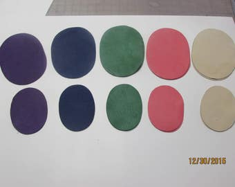 Real Deerskin Leather Elbow Patch Kit - 5 colors to choose from - Made in the USA
