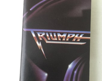 Triumph Classics Vintage Audio Cassette Tape 1989 MCA Records MCAC 42283