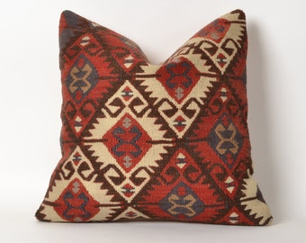 kilim pillow, kilim, pillow, turkish pillow, decorative pillow, turkish kilim, vintage pillow, kilim cushion, turkish kilim pillow cover