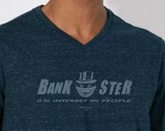 BANKSTER  organic cotton tee shirt
