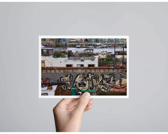 Urban Thames side | A6 card and envelope