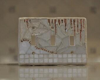 mosaic switch plate. WINTER WHISPER