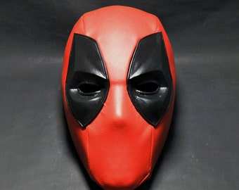 DEADPOOL mask, helmet great quality, 3D printing. lined in fabric