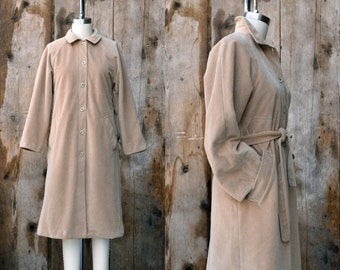 c. 1970s CASHIN coat + vintage 70s belted trench style coat + vintage BONNIE CASHIN for Russ Taylor jacket