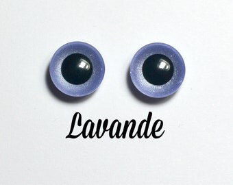 Eyechips 13 mm - color Lavender size Pullip models
