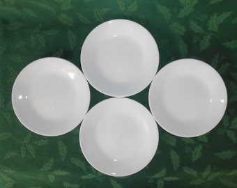 "Corelle "" Winter White "" Dessert / Bread Plates"