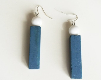 Tube earrings