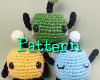 Junimo Crochet Amigurumi Pattern