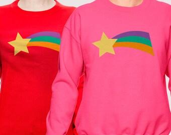 Mabel Shooting Star sweatshirt (Pink or Red)