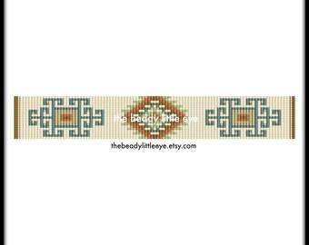 Bead Loom Pattern - Loom Tutorial - Beading Pattern - Loom Beading Pattern - Bracelet Tutorial - Bracelet Pattern - Loom Pattern - MURAL