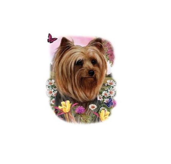 Bridal Shoes Yorkshire: Yorkshire Terrier T Shirt Yorkie Floral Dog Shirt Quilt