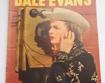 Dale Evans Queen of the West Vintage Comic Book, No. 13 1956, VG-